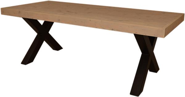 Kloostertafel op maat eiken tafel steigerhout landelijk te koop